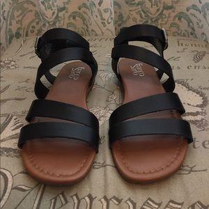 Franco Sarto Black Sandal